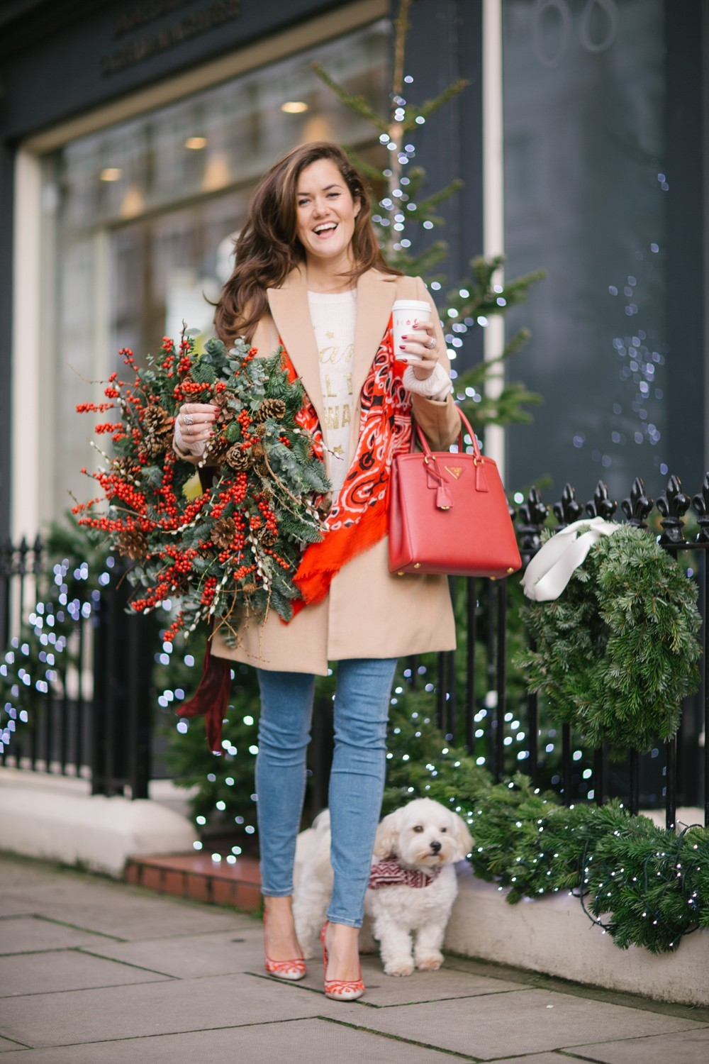 Christmas Shopping in Notting Hill