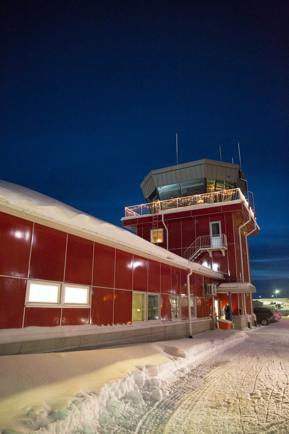 Lapland's little red airport