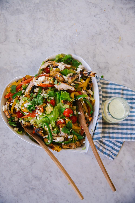 Chicken Fajita Salad -1