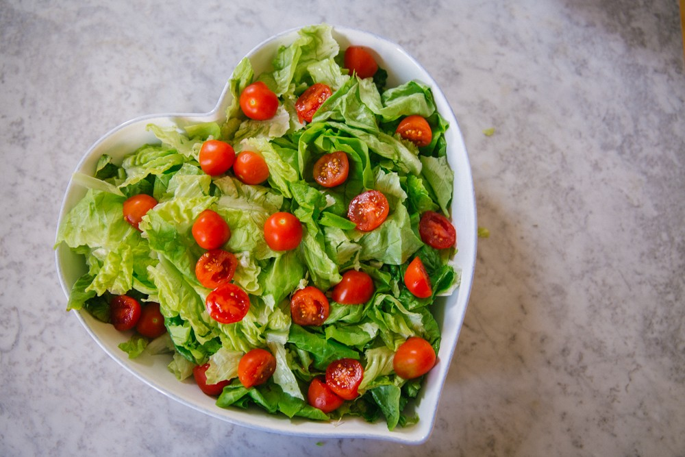 Chicken Fajita Salad -10
