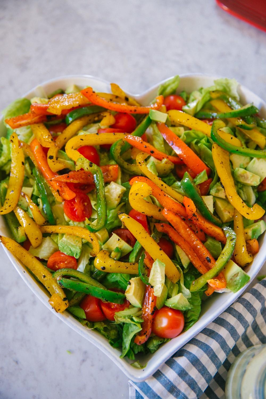 Chicken Fajita Salad -11