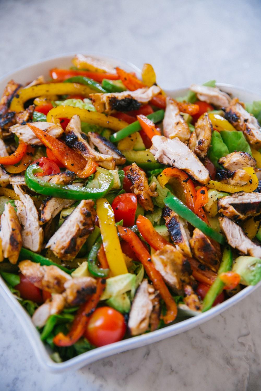 Chicken Fajita Salad -12