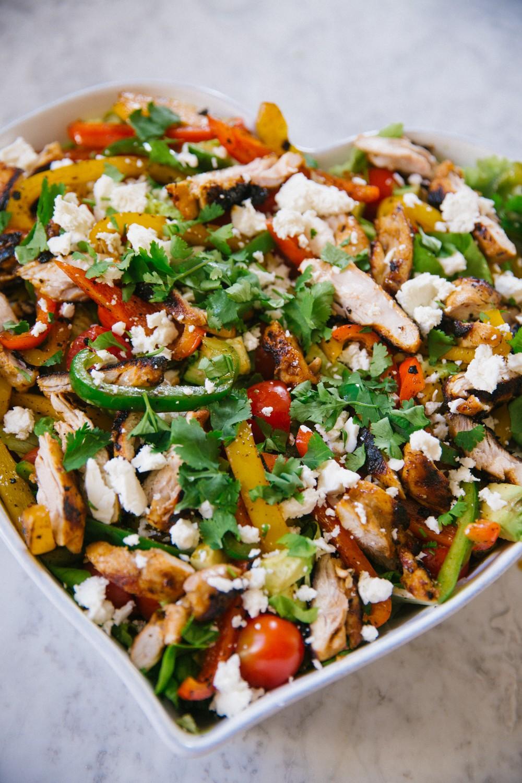 Chicken Fajita Salad -13