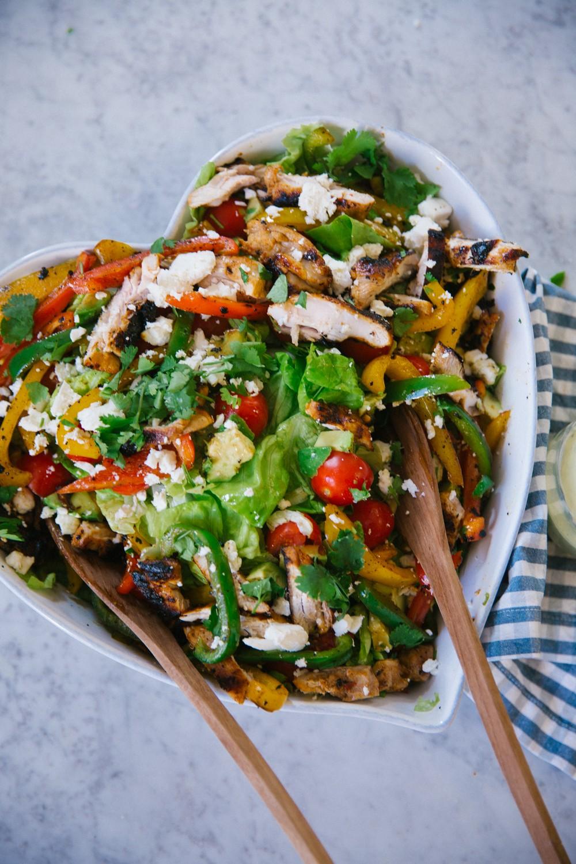 Chicken Fajita Salad -15