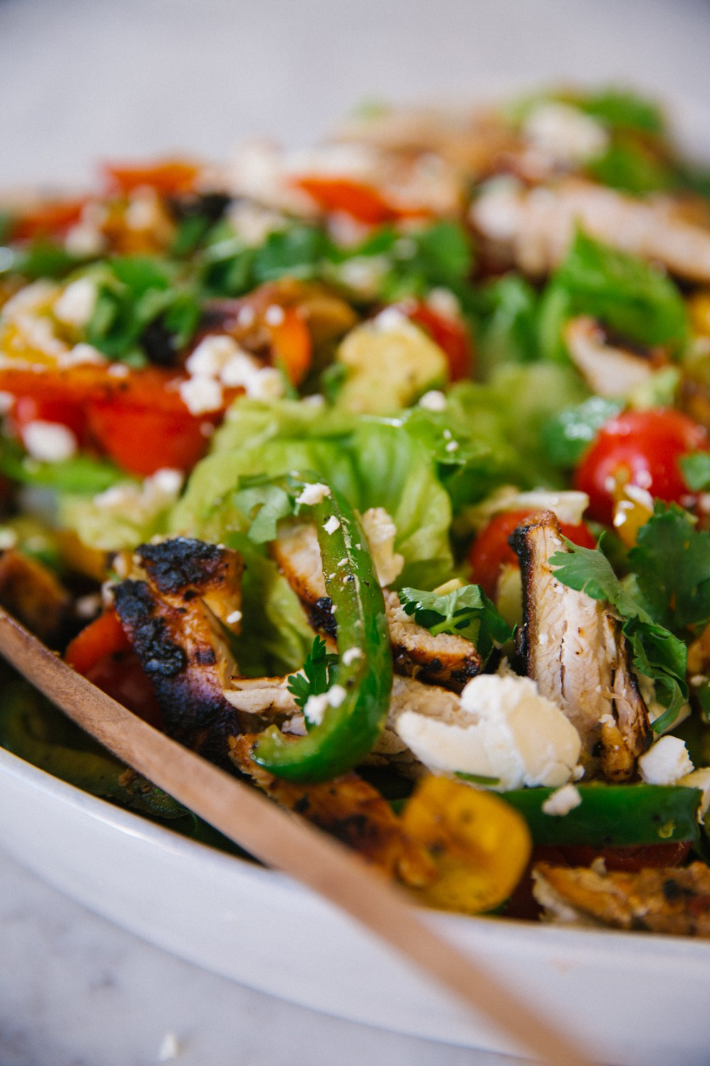 Chicken Fajita Salad -16