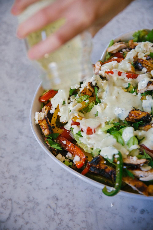 Chicken Fajita Salad -18