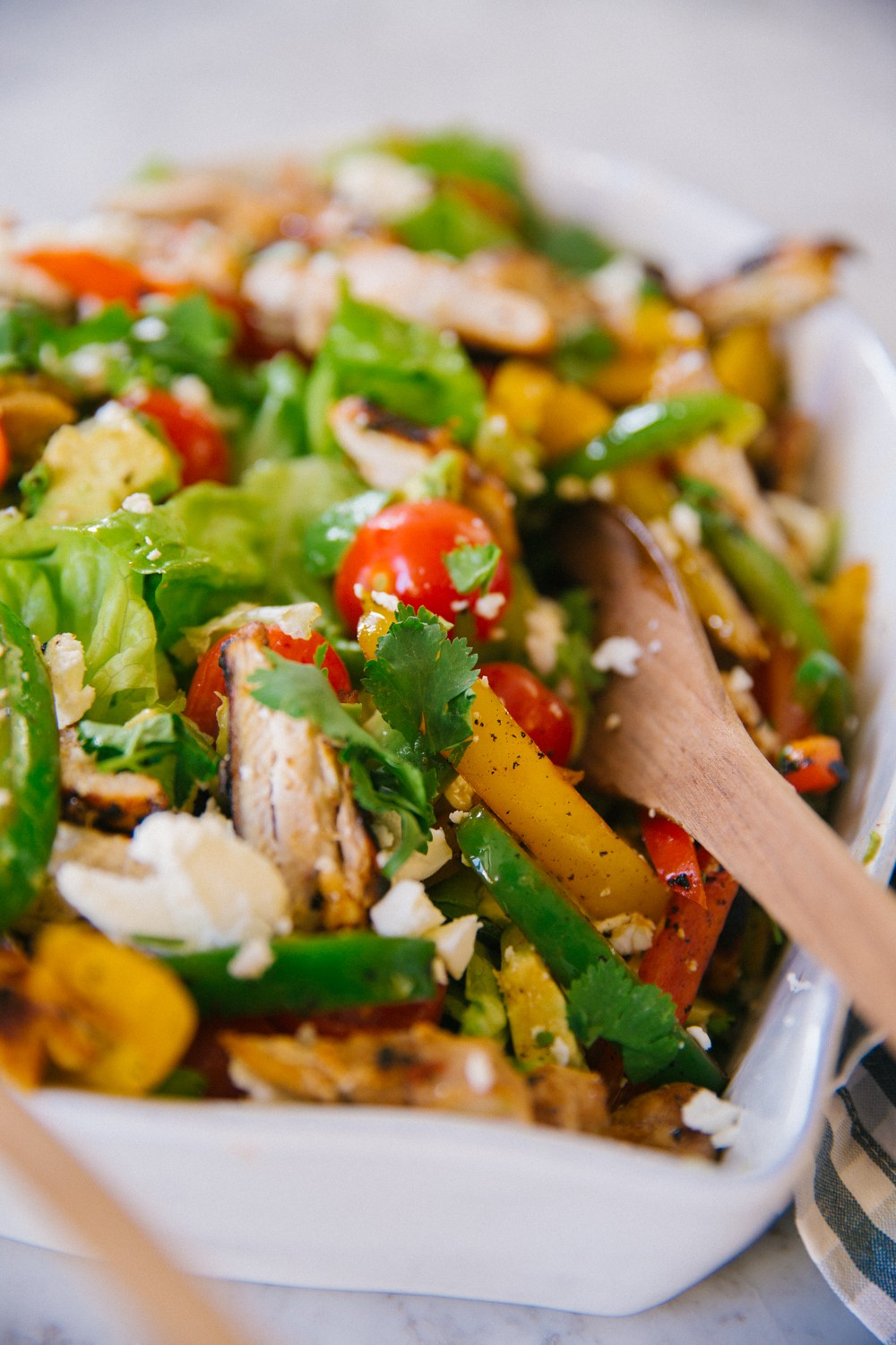 Chicken Fajita Salad -2