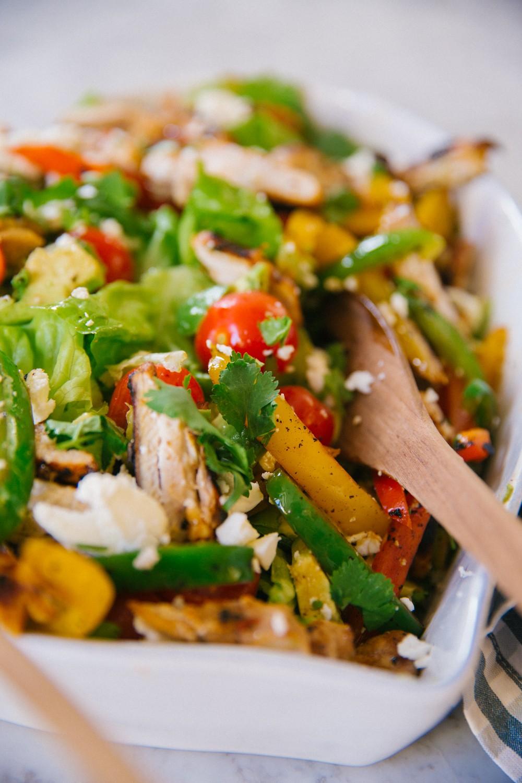 Chicken Fajita Salad -2