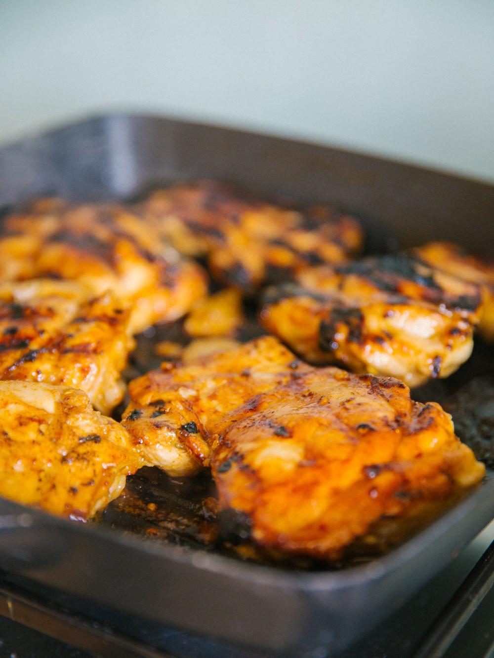 Chicken Fajita Salad -5