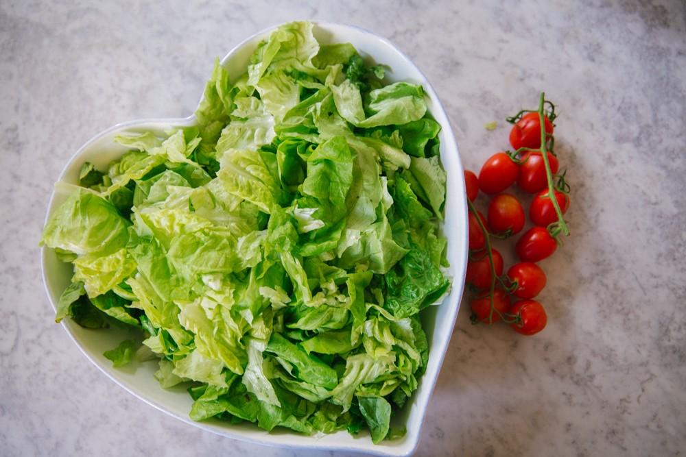 Chicken Fajita Salad -9