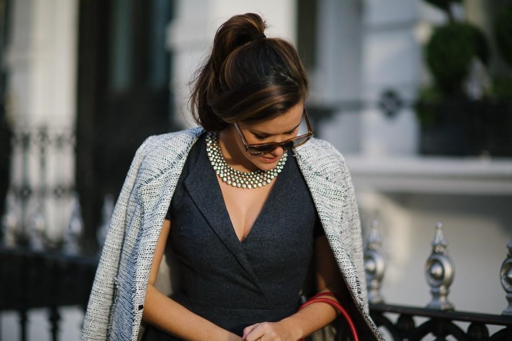 Tweed and diamonds
