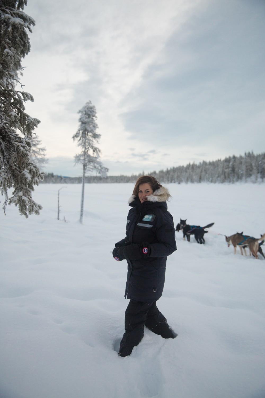 Husky Sledding Lapland-38