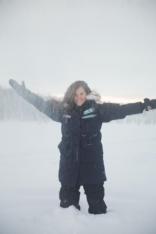 Husky Sledding Lapland-42