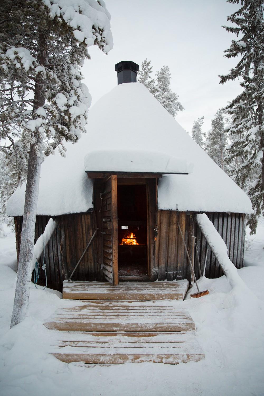 Husky Sledding Lapland-43