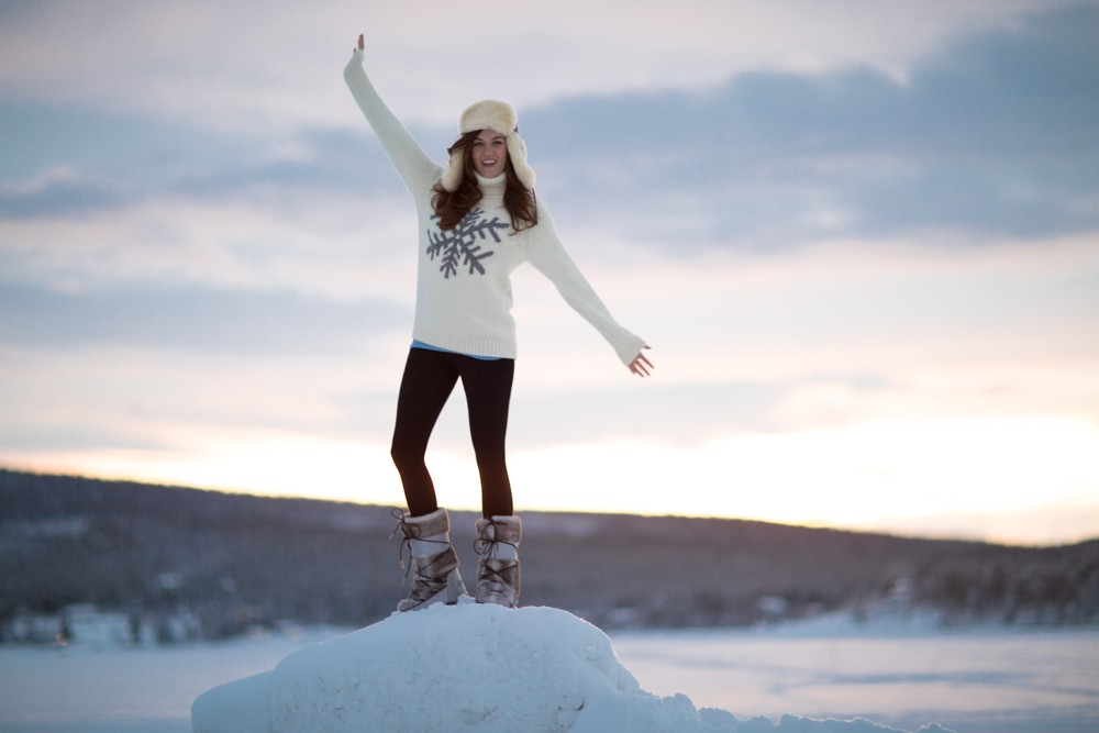 Husky Sledding Lapland-64