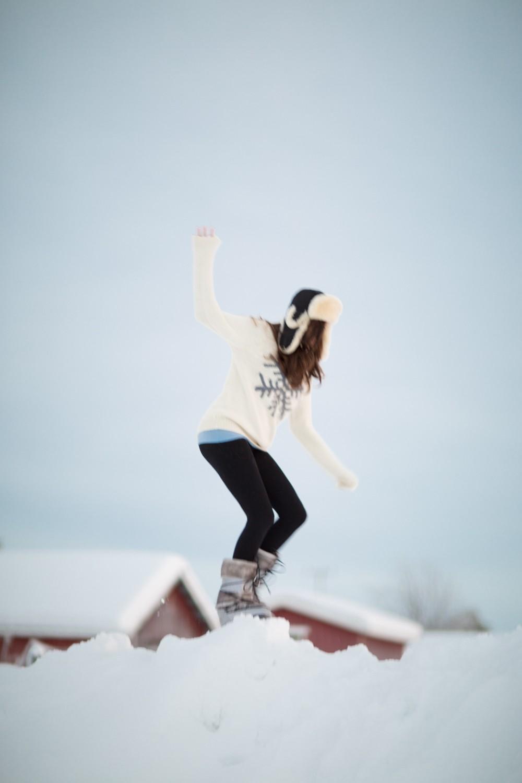 Husky Sledding Lapland-65