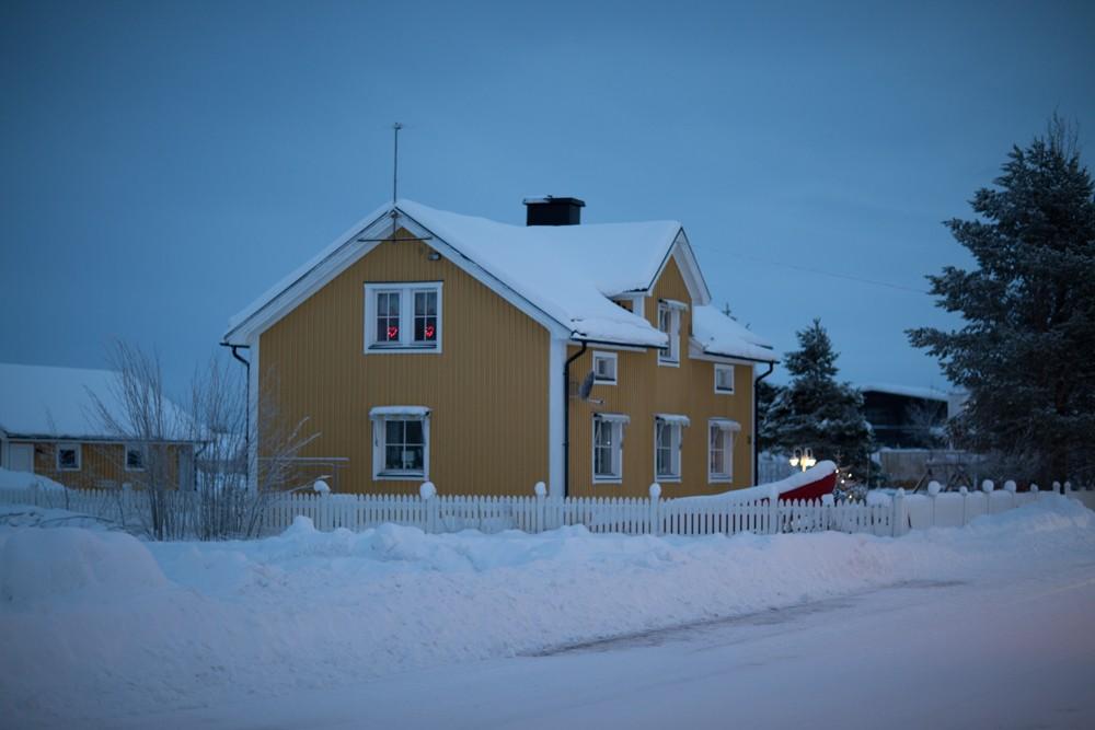 Husky Sledding Lapland-74