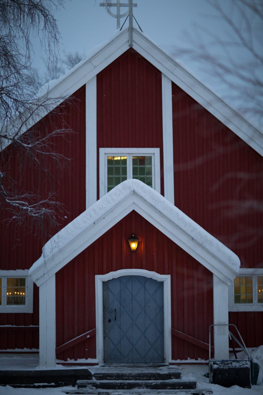 Husky Sledding Lapland-77