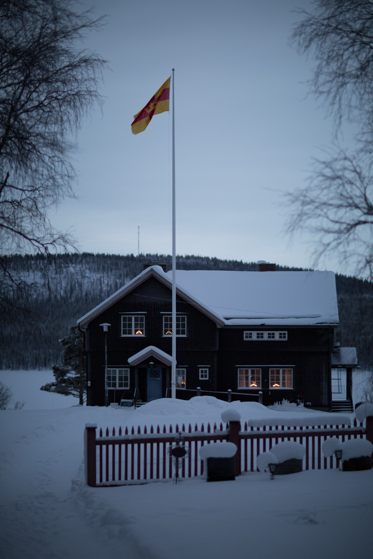 Husky Sledding Lapland-80