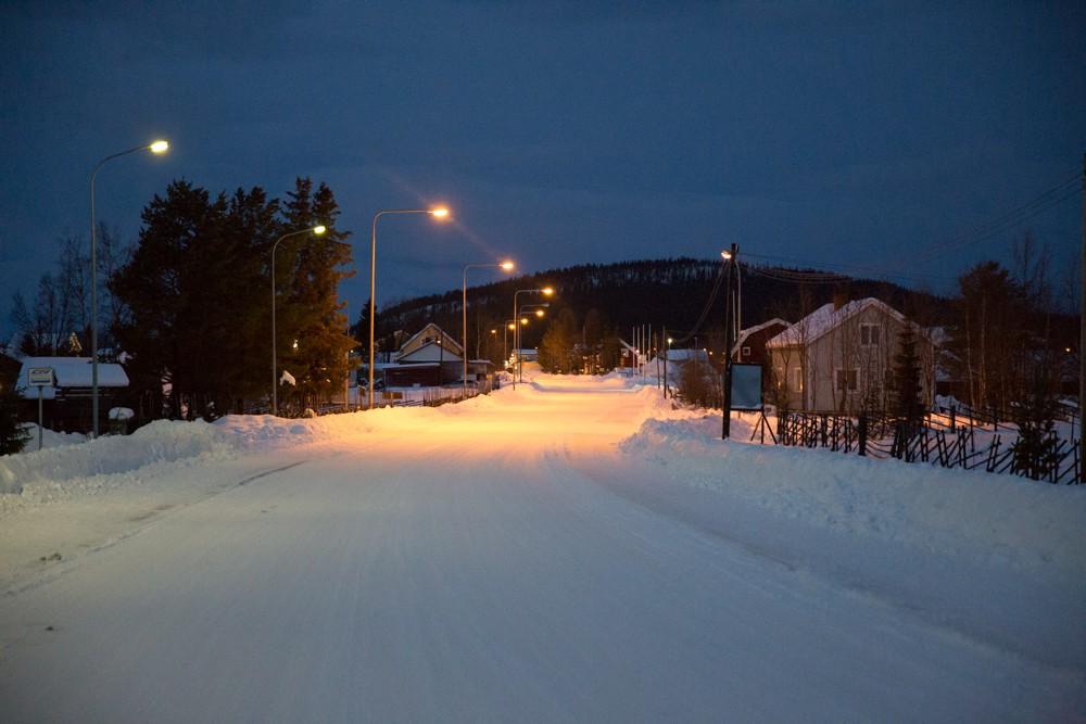 Husky Sledding Lapland-86