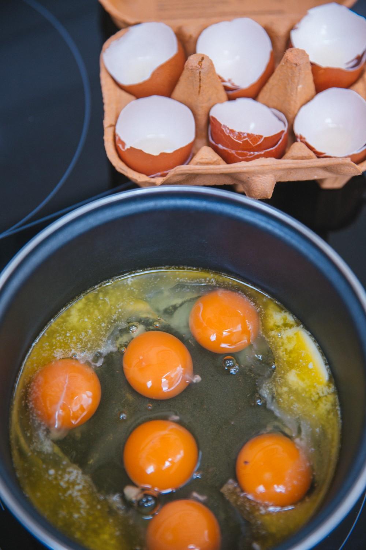 Goat's Cheese Scrambled Eggs-4
