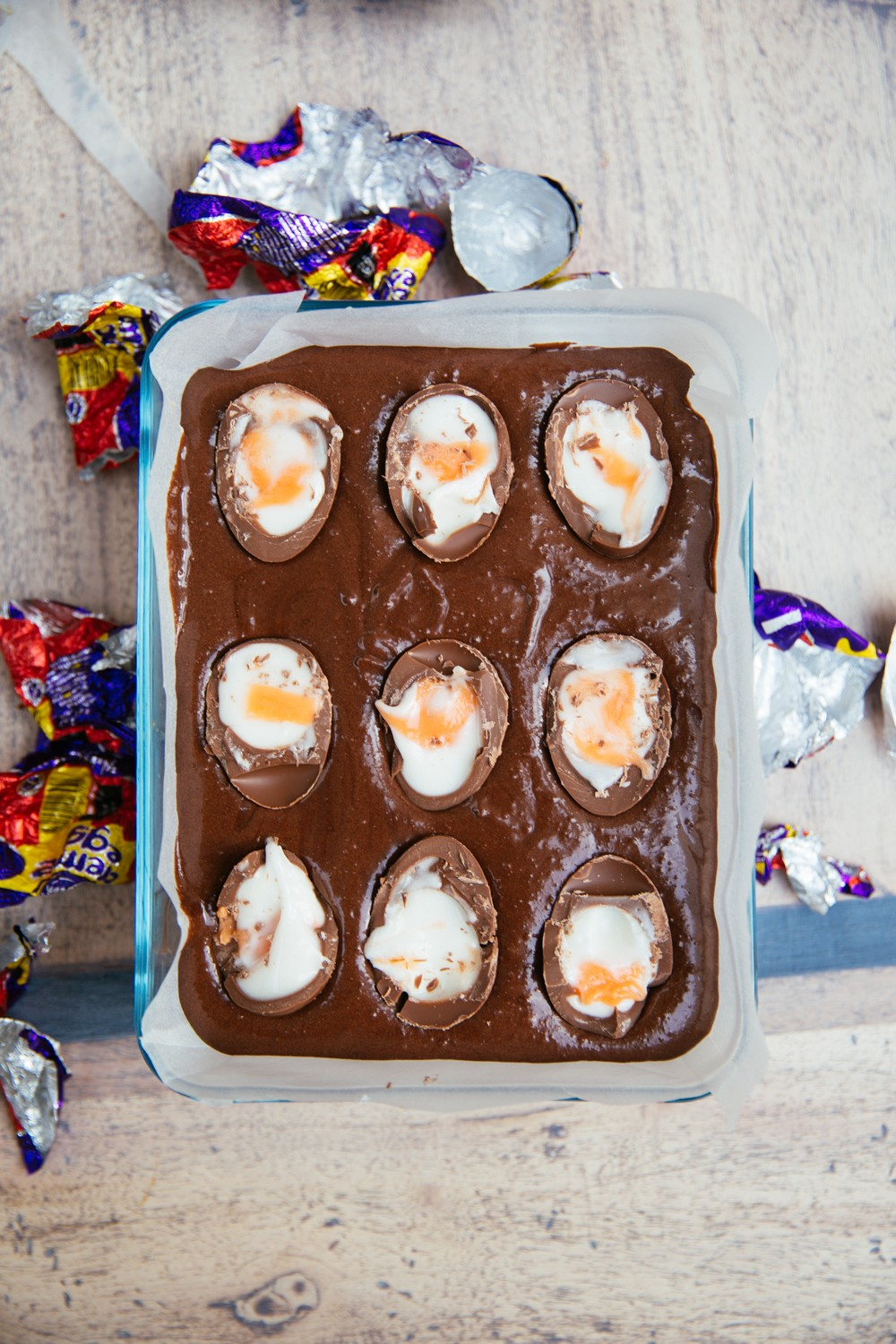 Cream Egg Slutty Brownies - Slutty Brownies just got even naughtier!