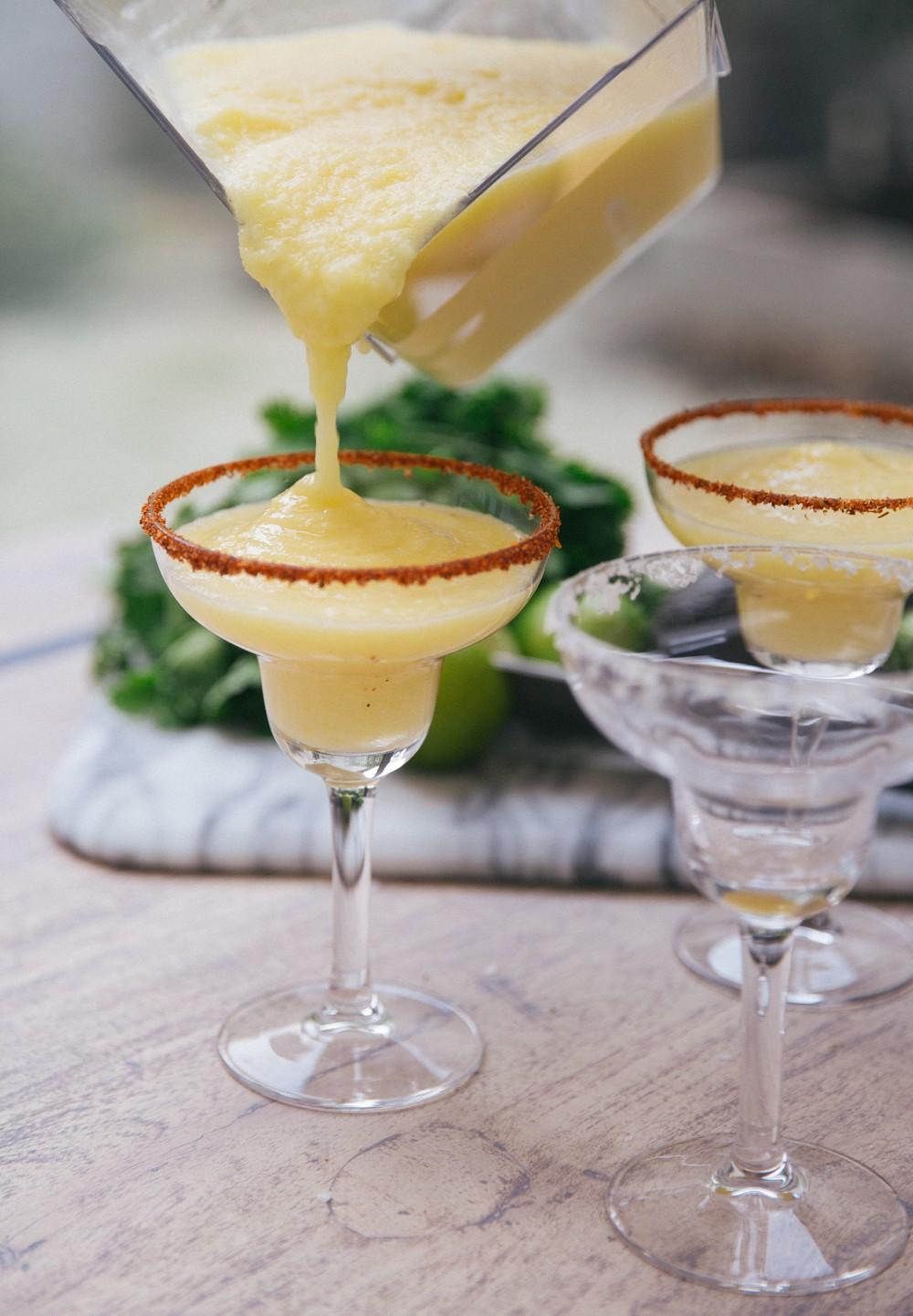 Frozen Pinapple Margarita Recipe -12
