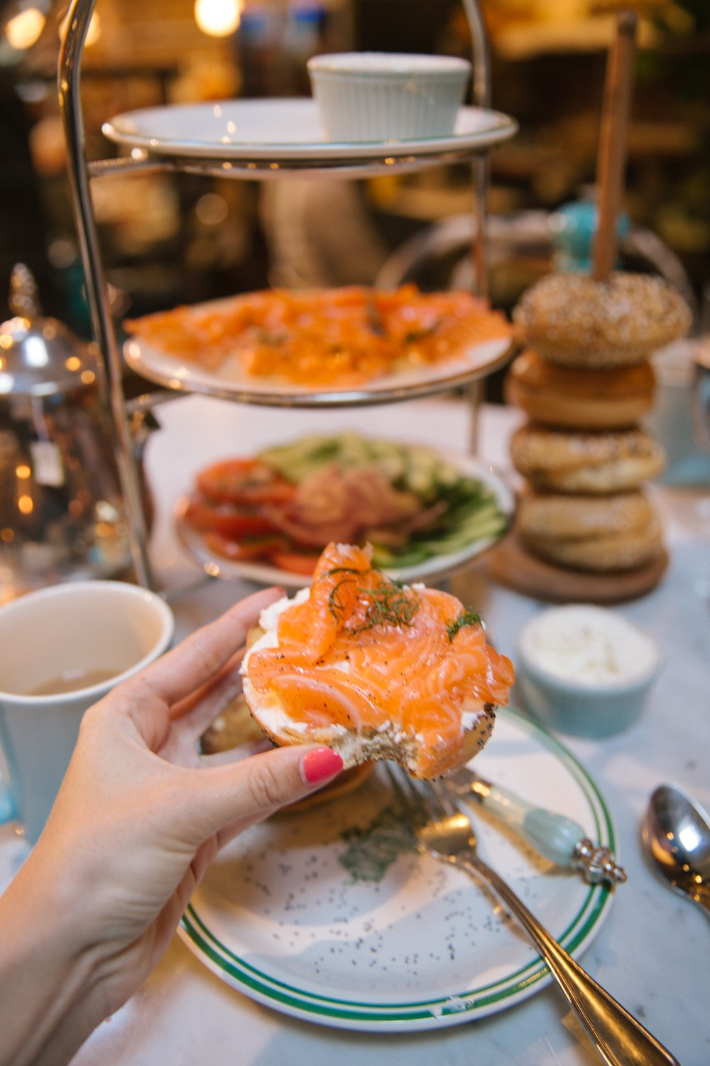 The Londoner » Bagel Brunch, NYC