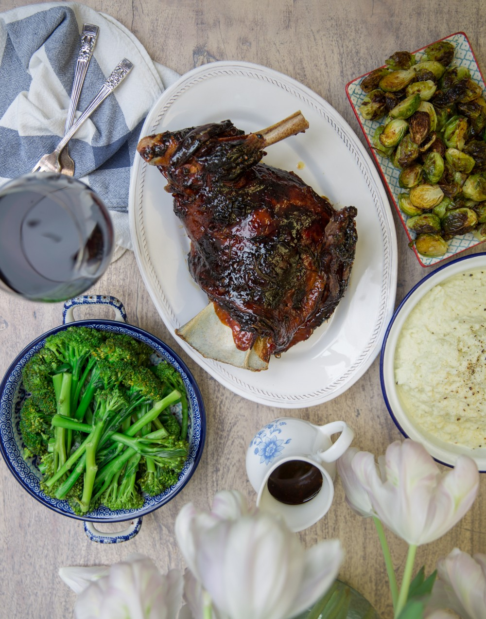 Sticky Slow Cooked Lamb - So easy and SO good!