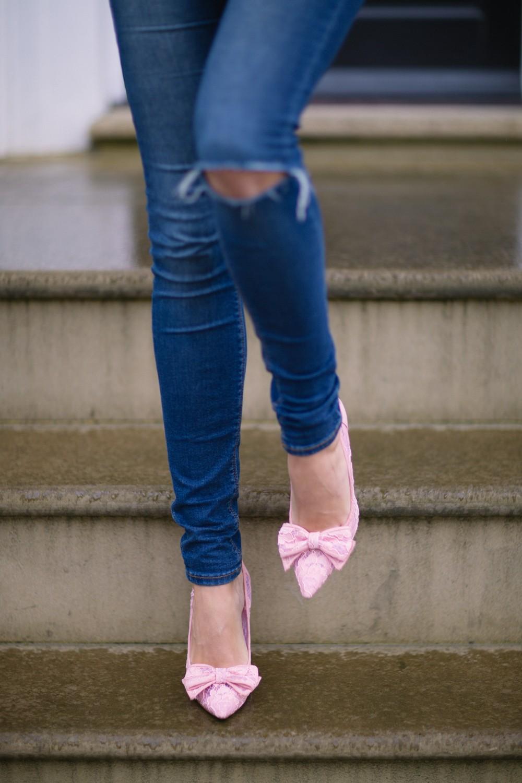 Denim n heels