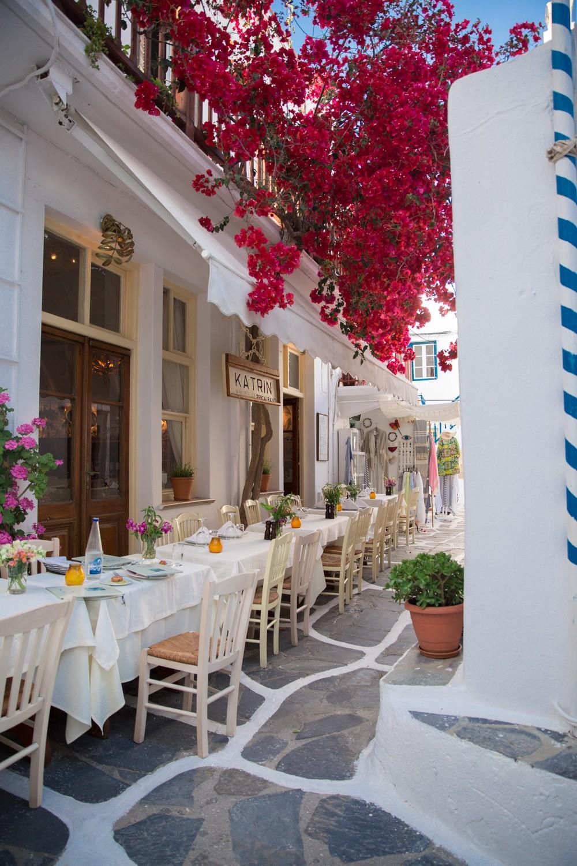 Dinner in Mykonos -1