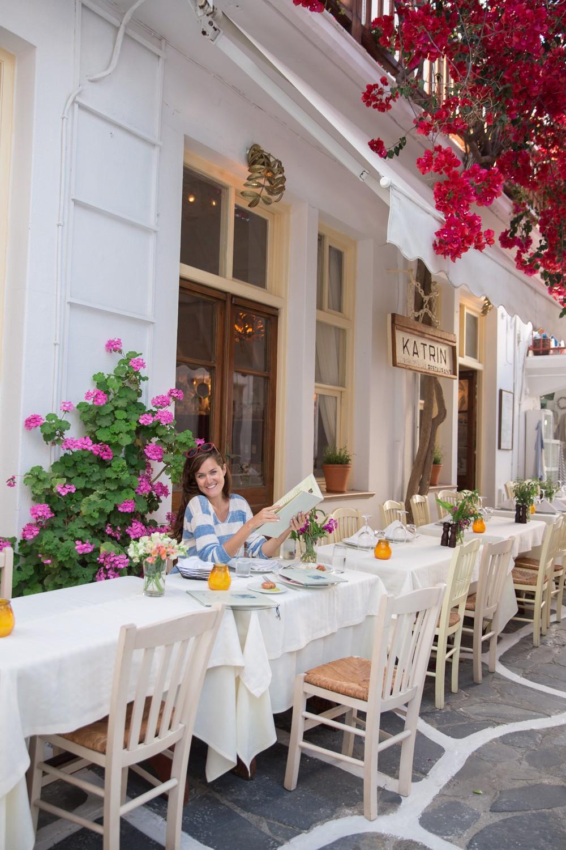 Dinner in Mykonos -4