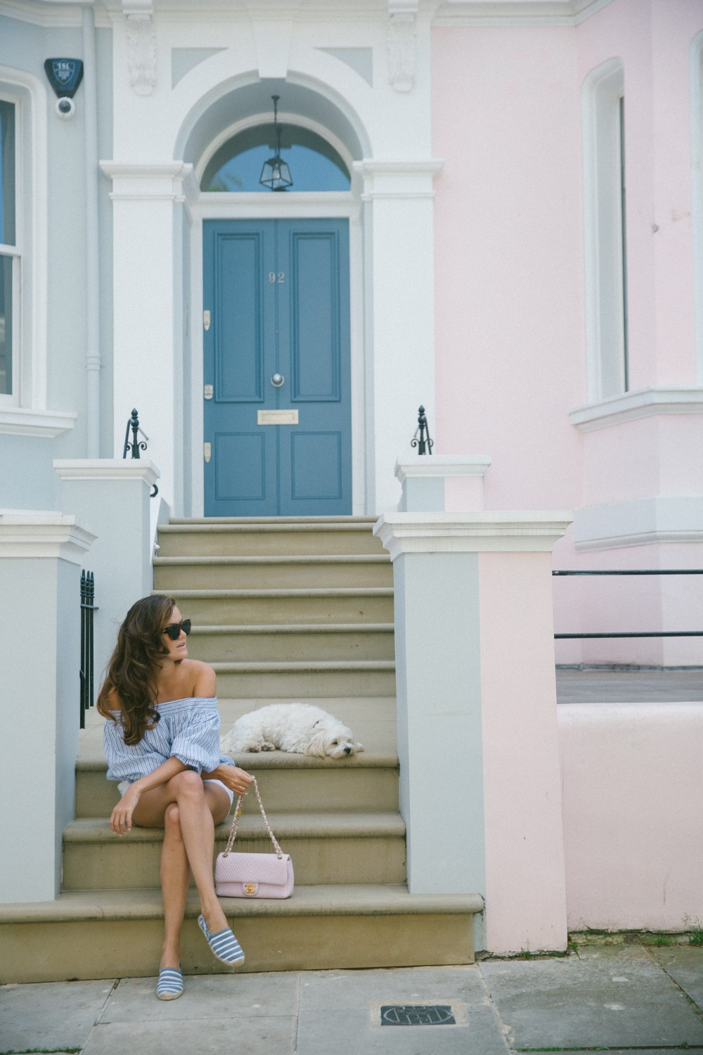 Notting Hill pastel houses