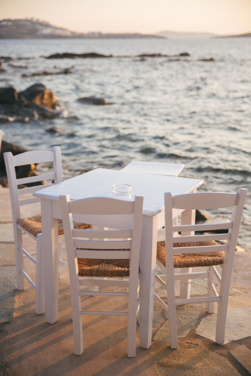 Sunset supper in Mykonos -12
