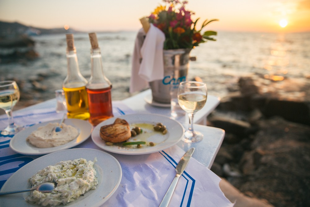Sunset supper in Mykonos -16
