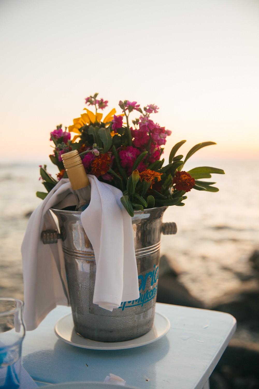 Sunset supper in Mykonos -21