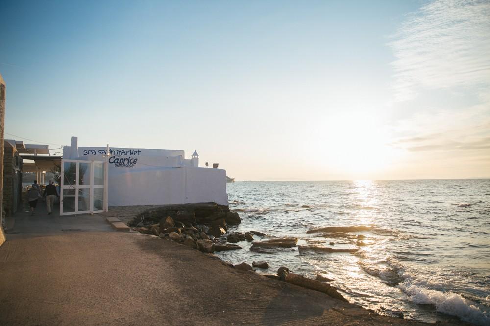 Sunset supper in Mykonos -5