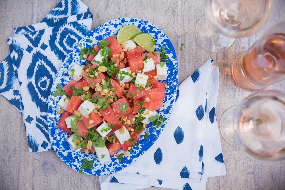 Watermelon Salad - the ultimate summer recipe!