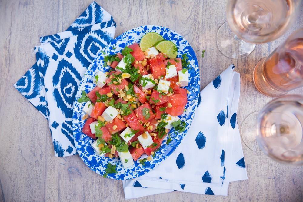 Watermelon Salad all summer long, baby!