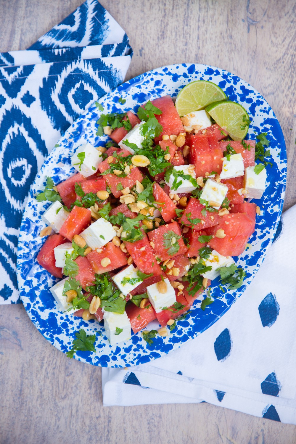The easiest (and best!) Watermelon Salad recipe