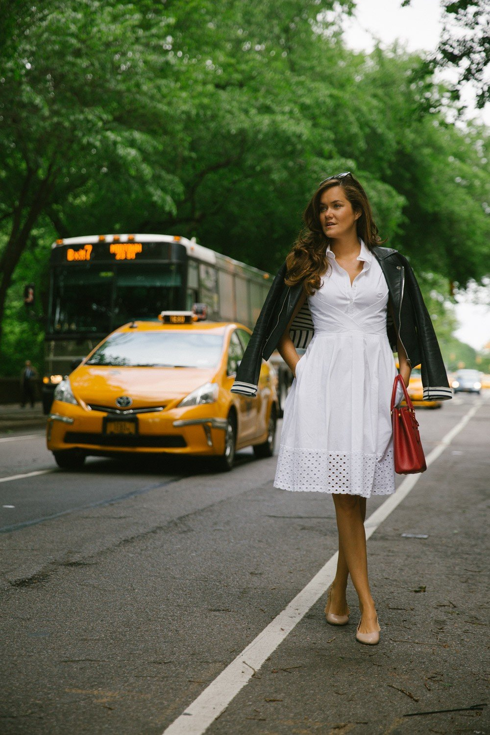 Cotton Dress in New York -1