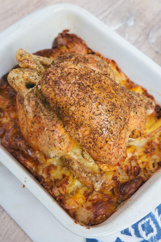 Nesting Roast Chicken -1