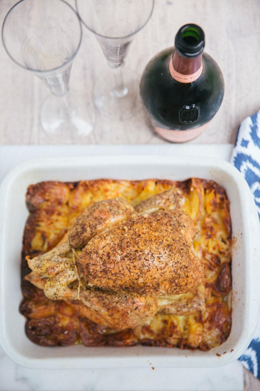 Nesting Roast Chicken -12