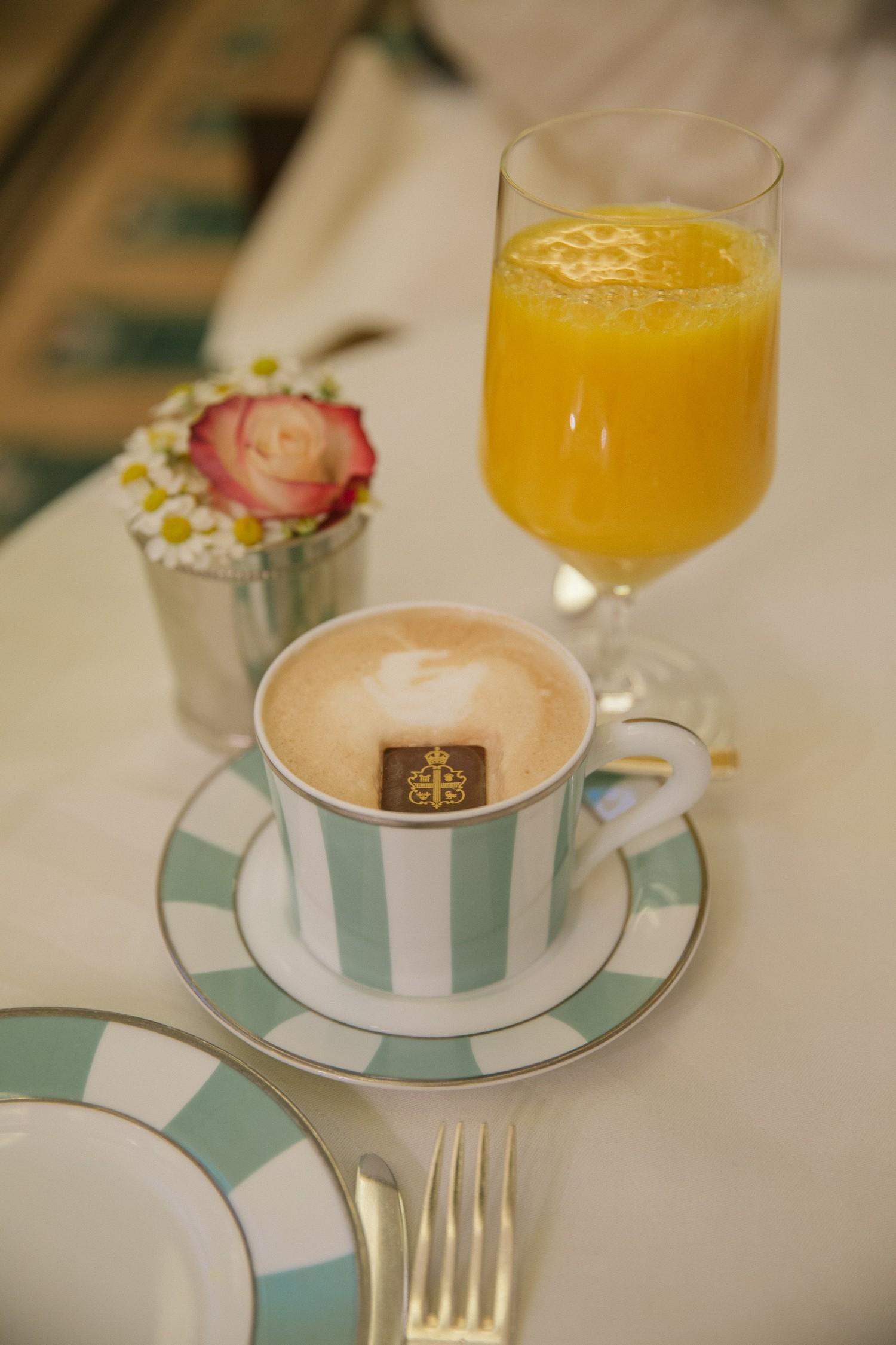 Breakfast at Claridge's