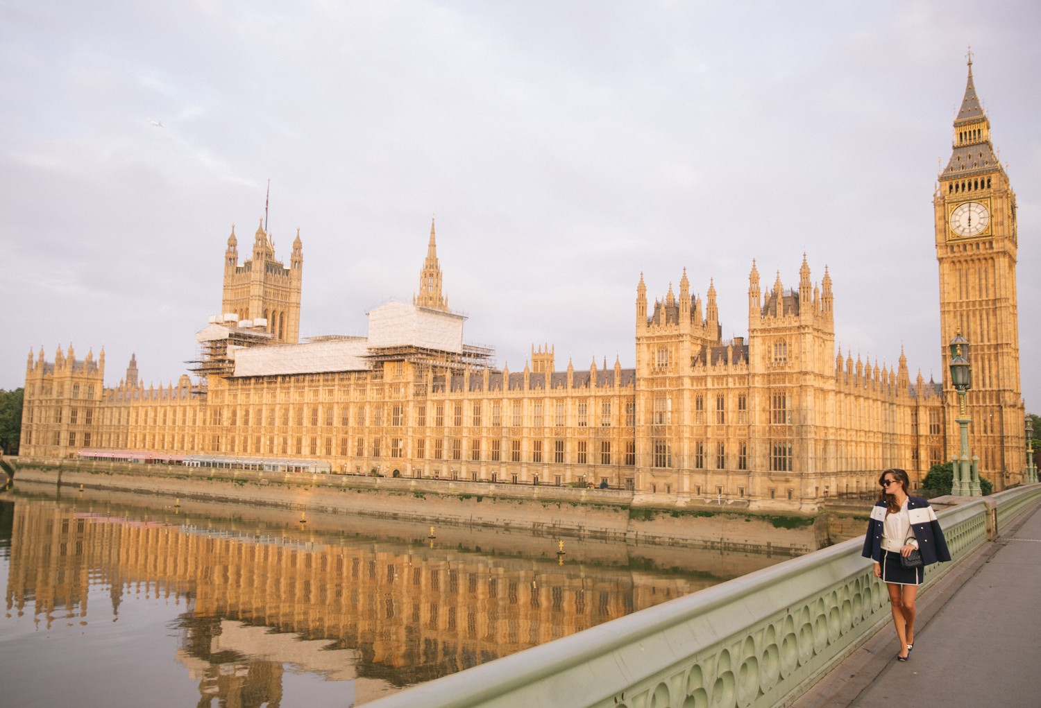 Houses of Parliament at sunrise, London