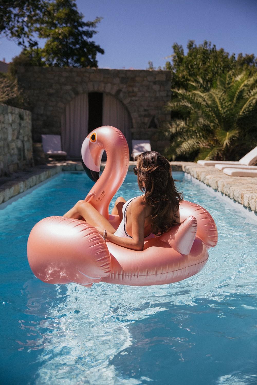 Rose gold flamingo!