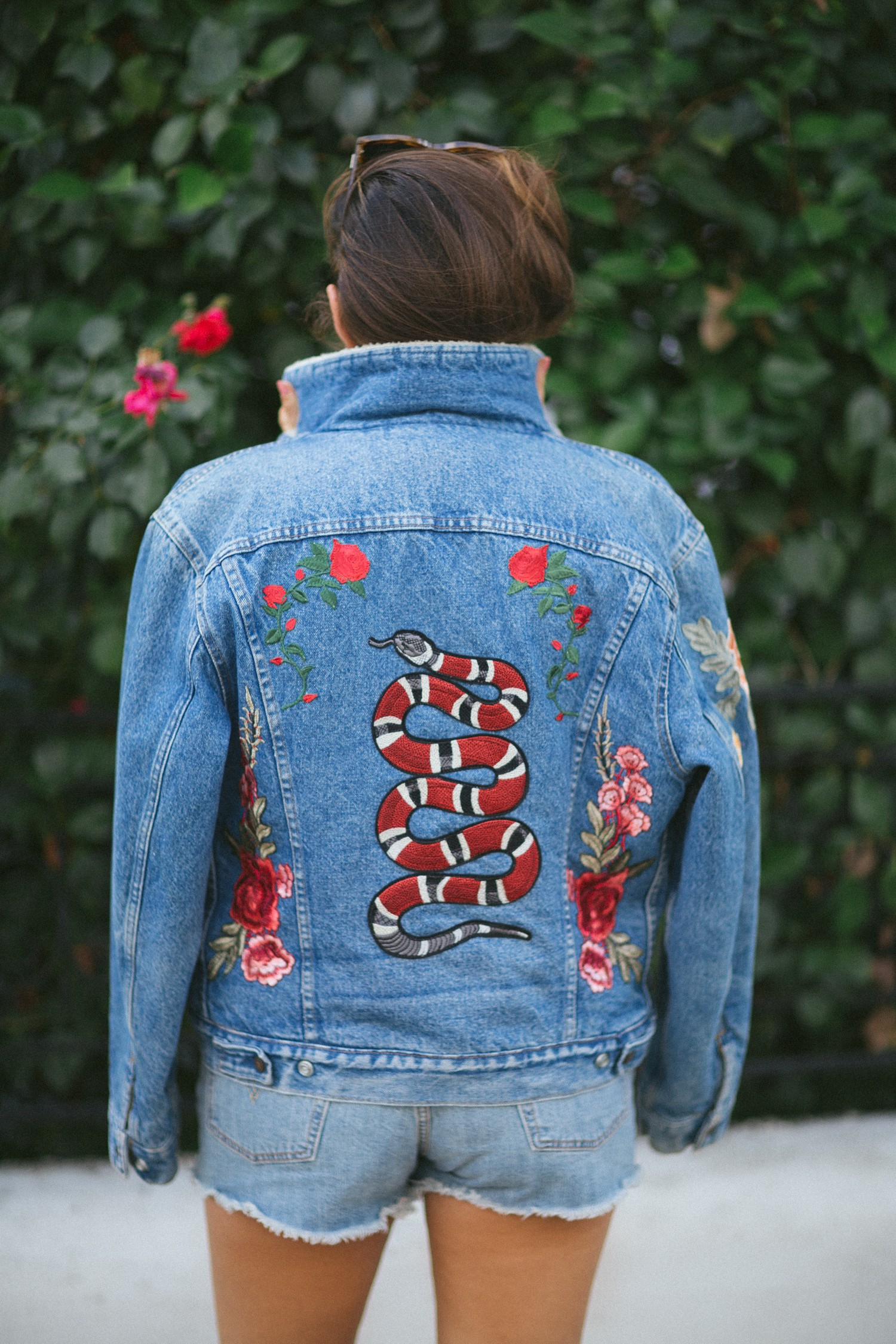 DIY embroidered jacket-10