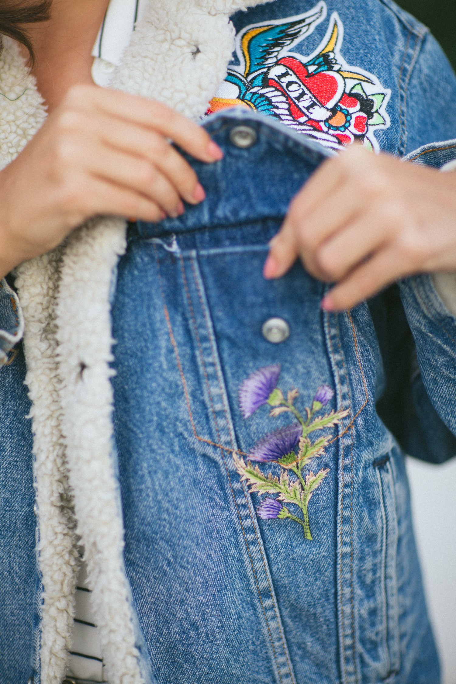 DIY embroidered jacket-11