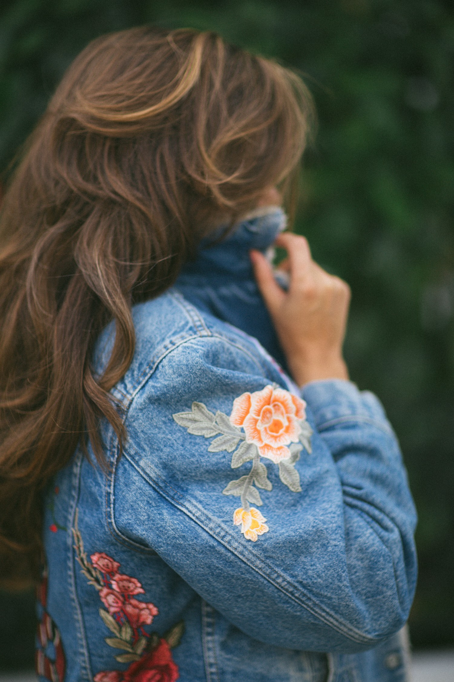 Vintage Levis Denim Jacket DIY