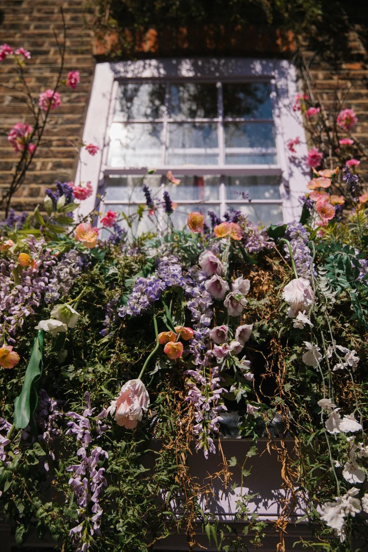 Window box goals - London